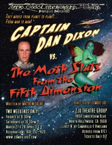 Captain Dan Dixon vs. The Moth Sluts From the Fifth Dimension