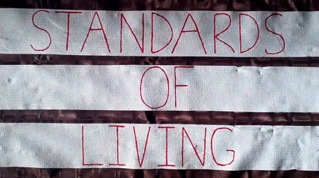 Standards of Living