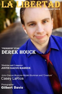 Derek Houck on the cover of La Libertad